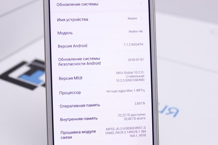 Смартфон Б/У Xiaomi Redmi 4A 32GB Gold
