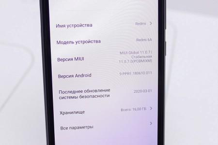 Смартфон Б/У Xiaomi Redmi 6A 2GB/16GB