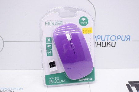 Мышь OMEGA OM-414 Purple