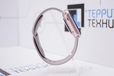 Смарт-часы Б/У Apple Watch Sport 38mm Rose Gold