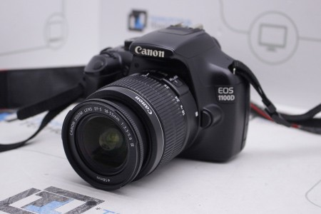 Фотоаппарат Б/У зеркальный Canon EOS 1100D Kit 18-55mm III
