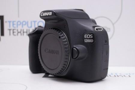 Фотоаппарат Б/У зеркальный Canon EOS 1200D Body