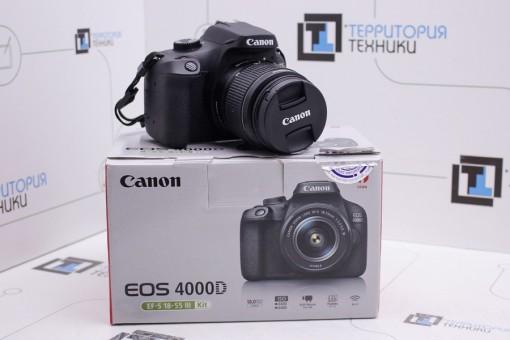 Canon EOS 4000D Kit 18-55mm III