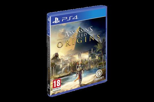 Диск с игрой Assassin's Creed: Истоки для PlayStation 4