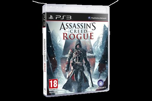 Диск с игрой Assassin's Creed Изгой для PlayStation 3