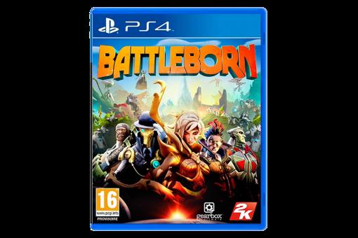 Диск с игрой Battleborn для PlayStation 4