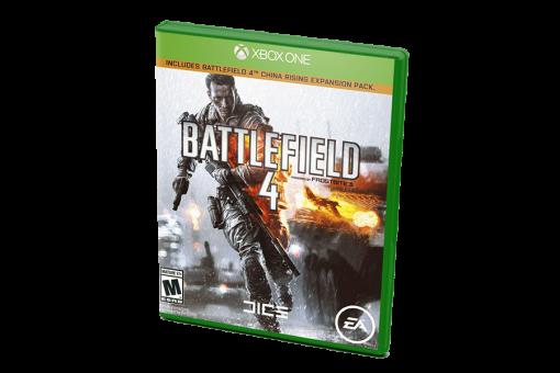 Диск с игрой Battlefield 4 для xBox One