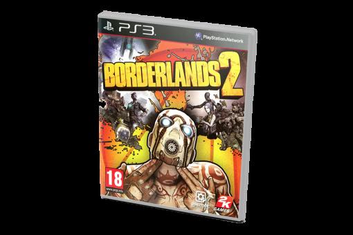 Диск с игрой Borderlands 2 для PlayStation 3
