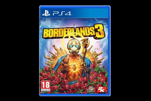 Диск с игрой Borderlands 3 для PlayStation 4