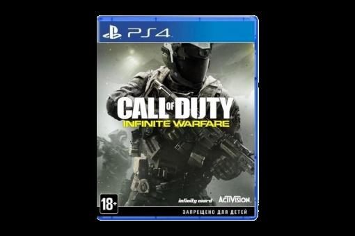 Диск с игрой Call of Duty: Infinite Warfare для PlayStation 4