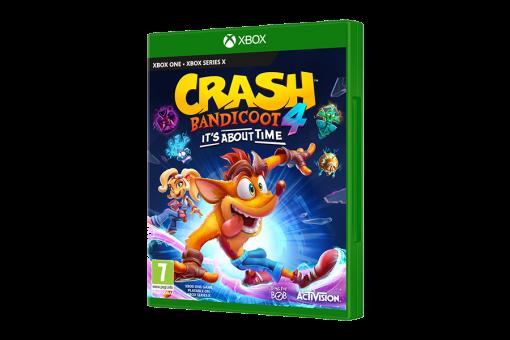 Диск с игрой Crash Bandicoot 4: Это Вопрос Времени для xBox One/xBox Series X
