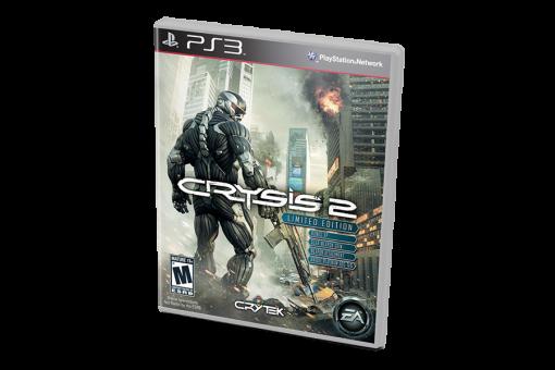 Диск с игрой Crysis 2 для PlayStation 3