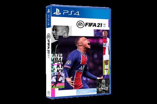 Диск с игрой FIFA 21 для PlayStation 4