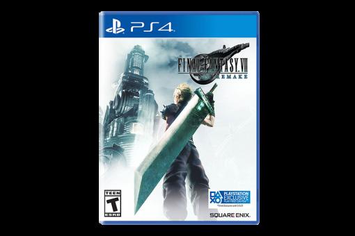 Диск с игрой Final Fantasy VII Remake для PlayStation 4