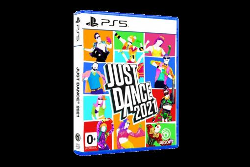 Диск с игрой Just Dance 2021для PlayStation 5