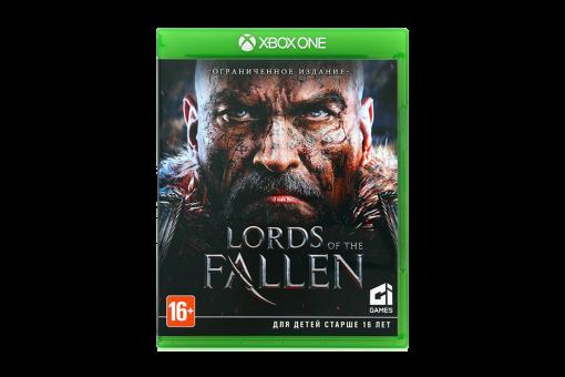 Диск с игрой Lords of the Fallen для xBox One