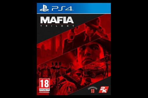 Диск с игрой Mafia: Trilogy для PlayStation 4