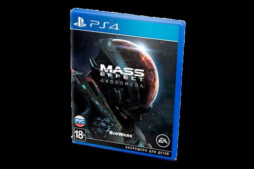 Диск с игрой Mass Effect: Andromeda для PlayStation 4