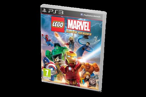 Диск с игрой Lego Marvel Super Heroes для PlayStation 3