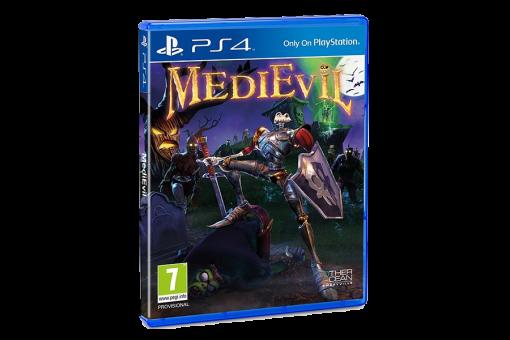 Диск с игрой MediEvil для PlayStation 4