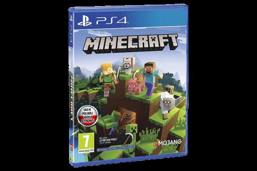 Диск с игрой Б/У Minecraft для PlayStation 4