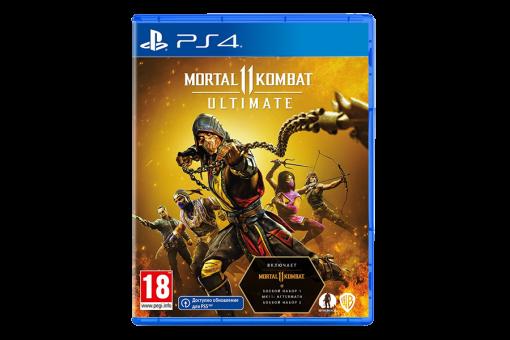 Диск с игрой Mortal Kombat 11 Ultimate для PlayStation 4