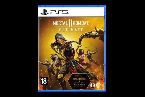 Диск с игрой Mortal Kombat 11 Ultimate для PlayStation 5
