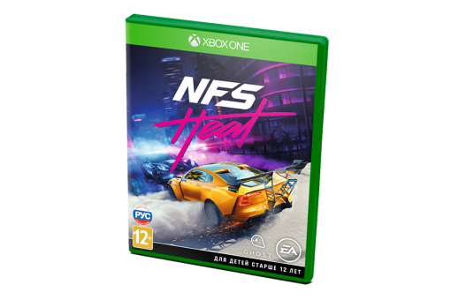 Диск с игрой Need for Speed Heat для xBox One