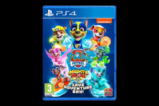 Диск с игрой Щенячий патруль: Мега-щенки спасают Бухту Приключений для PlayStation 4