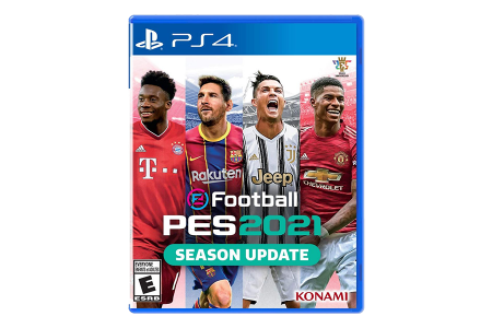 eFootball Pro Evolution Soccer 2021 для PlayStation 4