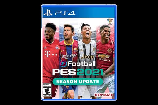 Диск с игрой eFootball Pro Evolution Soccer 2021 для PlayStation 4