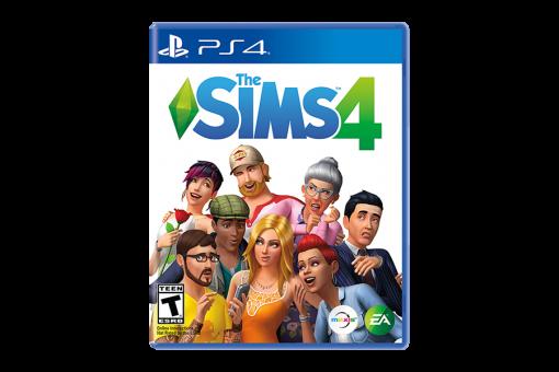 Диск с игрой The Sims 4 для Sony PlayStation 4