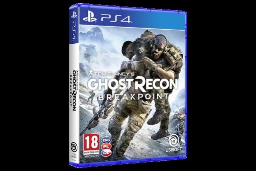 Диск с игрой Tom Clancy's Ghost Recon Breakpoint для PlayStation 4