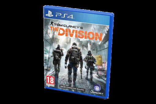Диск с игрой Tom Clancy's The Division для PlayStation 4