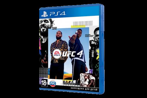Диск с игрой EA Sports UFC 4 для Sony PlayStation 4