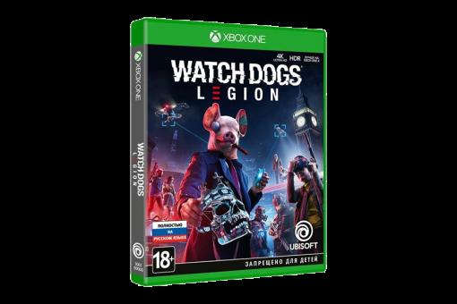 Диск с игрой Watch Dogs: Legion для xBox One