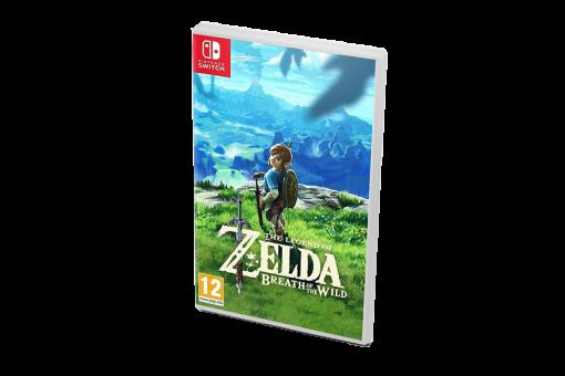 Картридж Б/У The Legend of Zelda: Breath of the Wild для Nintendo Switch