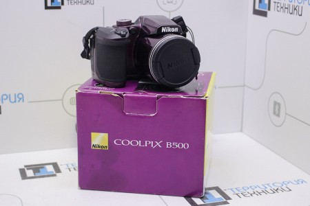 Фотоаппарат Б/У цифровой Nikon Coolpix B500