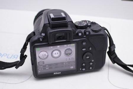 Фотоаппарат Б/У зеркальный Nikon D3500 Kit 18-55mm VR