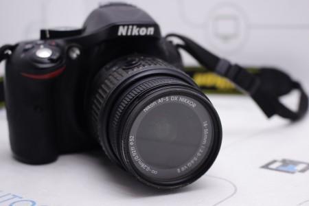 Фотоаппарат Б/У зеркальный Nikon D5200 Kit 18-55mm VR