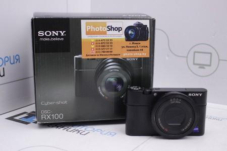 Фотоаппарат Б/У Sony Cyber-shot DSC-RX100