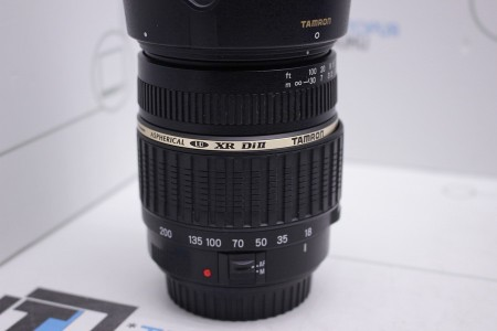 Объектив Б/У Tamron AF 18-200mm F/3.5-6.3 XR Di II LD Aspherical (IF) Canon EF