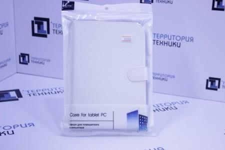 """Чехол-книга ACTIV для планшета Leather 8"""" White 001"""