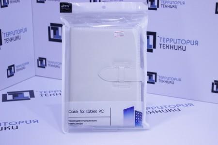 """Чехол-книга ACTIV для планшета Leather 7"""" White"""