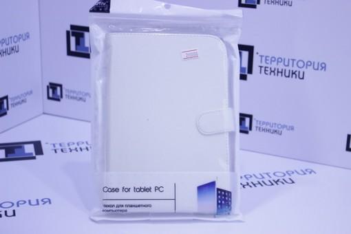 """Чехол-книга ACTIV для планшета Leather 8"""" White 002"""