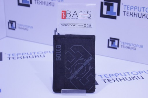 Чехол GOLLA Phone Pockets CATCH BLACK G892