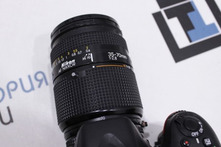 Фотоаппарат Б/У зеркальный Nikon D7100 + Nikon 35-70 mm f/2.8 AF