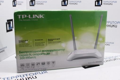 Беспроводной маршрутизатор TP-Link TL-WR840N (Ver 2.0)