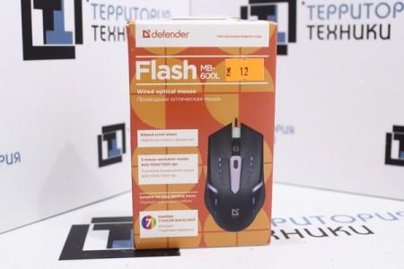 Мышь проводная Defender Flash MB-600L