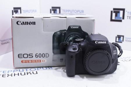 Фотоаппарат Б/У зеркальный Canon EOS 600D Body